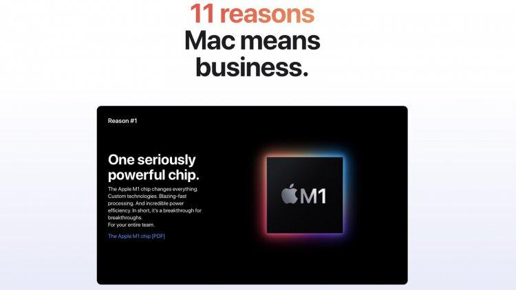 Apple đưa ra 11 lý do vì sao người dùng doanh nghiệp nên dùng máy Mac