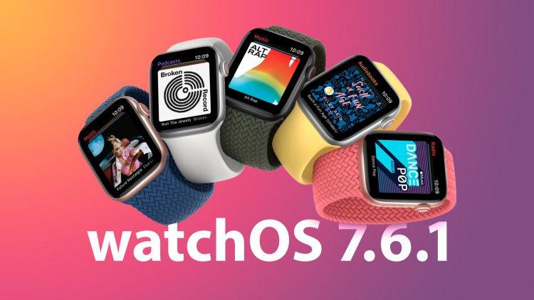 Apple phát hành bản cập nhật watchOS 7.6.1 sửa lỗi bảo mật