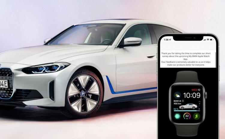 BMW đang khảo sát người dùng Apple Watch để phát triển ứng dụng kiểm soát xe