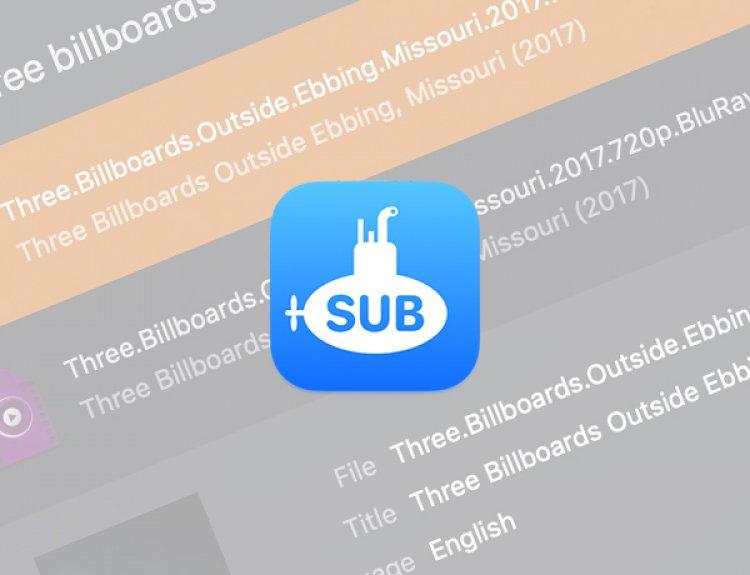 Submarine - Ứng dụng tìm kiếm phụ đề phim miễn phí dành cho macOS