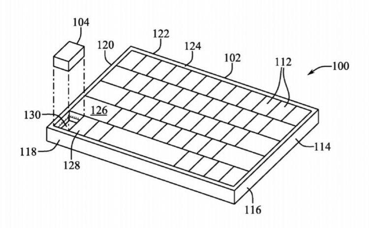 Bằng sáng chế mới của Apple giúp tháo một phím trên bàn phím ra làm chuột