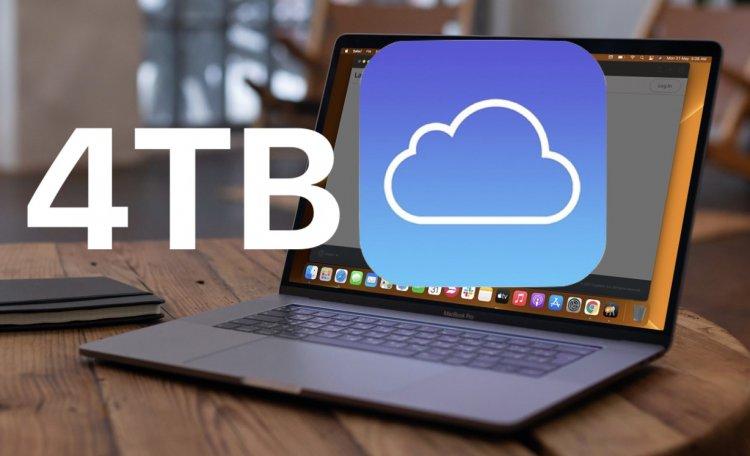 Lấy 4TB dung lượng iCloud
