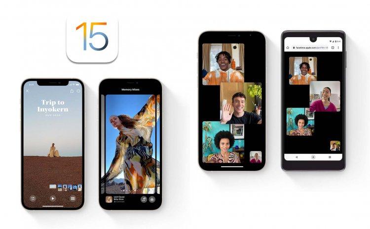 Apple phát hành iOS 15 chính thức