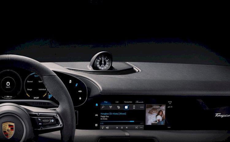 Porsche Taycan sẽ có sẵn Apple Music, hoạt động độc lập không cần CarPlay