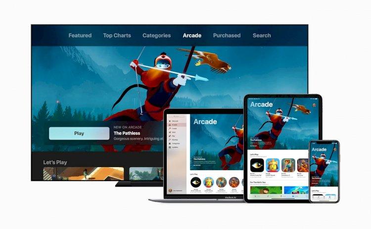 Đã có thể chơi được Apple Arcade trên macOS Catalina bản beta