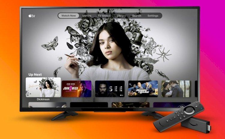 FireTV của Amazon đã có thể cài được ứng dụng Apple TV