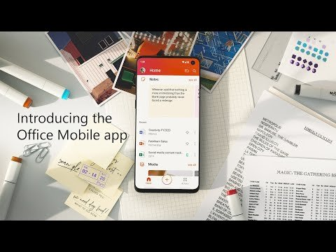 Microsoft giới thiệu ứng dụng Office duy nhất cho iOS