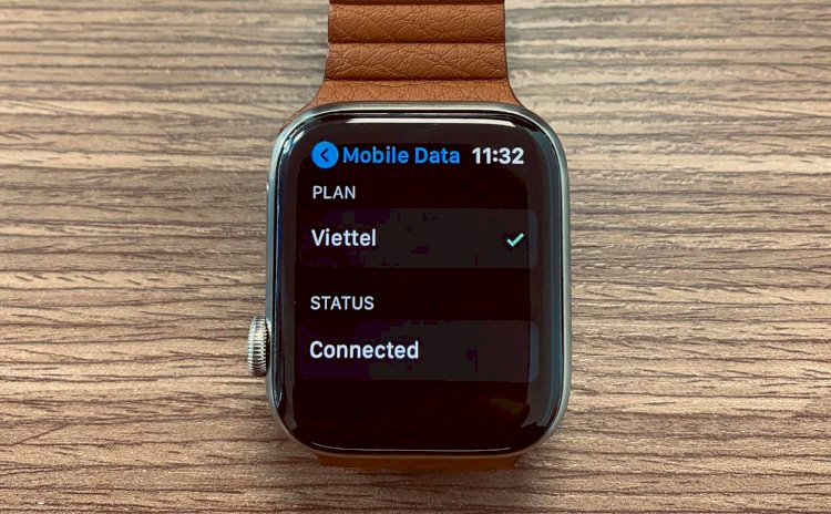 Review eSIM Viettel trên Apple Watch