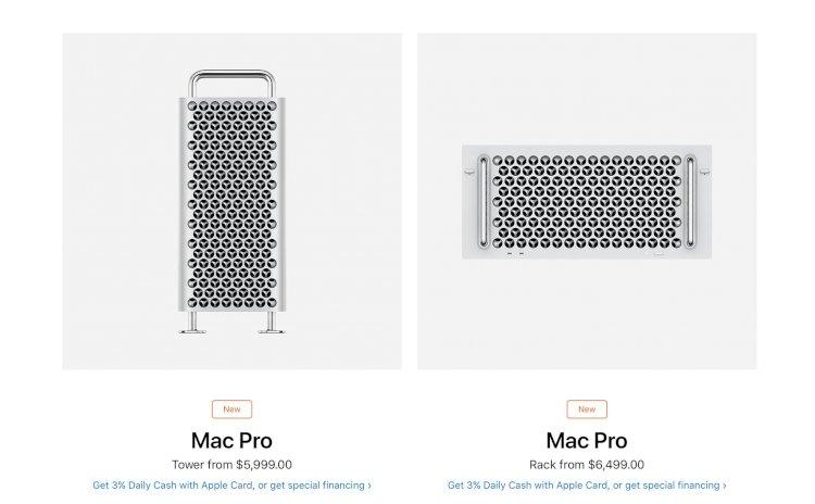 Apple bắt đầu bán Mac Pro bản Rack-mounted: Đắt hơn 500 USD so với bản Tower