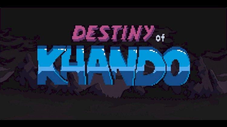 Destiny of Khando: Platformer