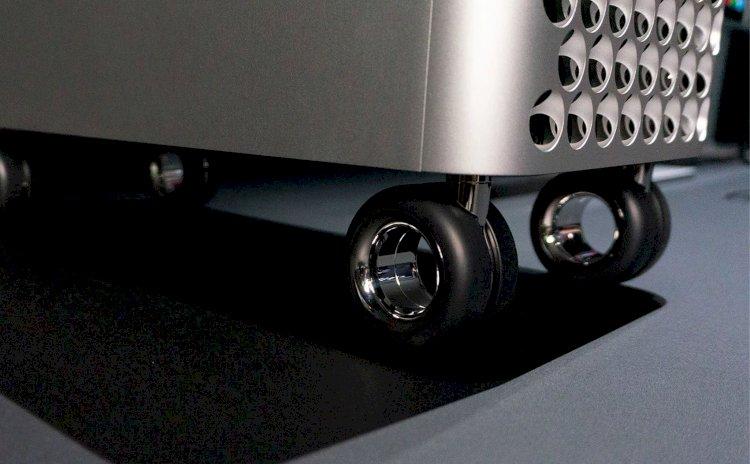 Apple sẽ bán bộ kit để người dùng tự gắn bánh xe cho Mac Pro tại nhà