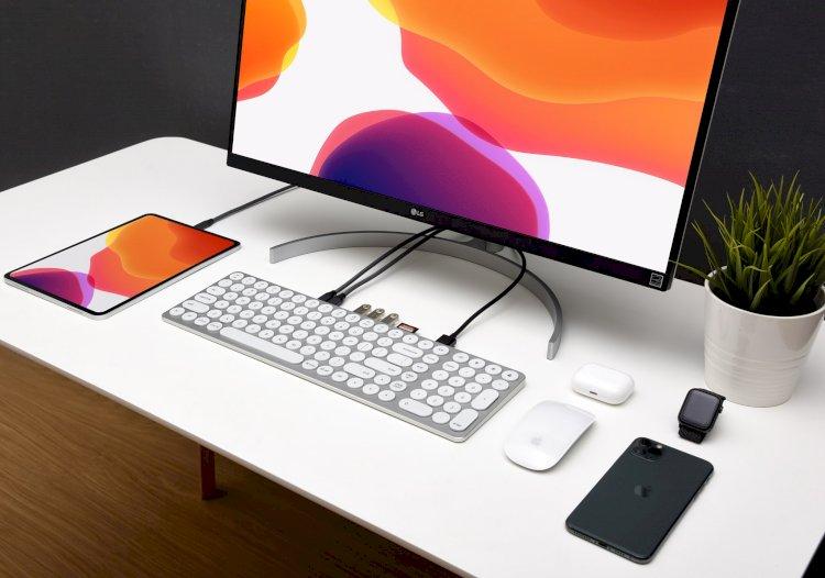 Kolude KD-K1 Keyhub: Vừa là bàn phím, vừa làm hub USB 9 cổng cho MacBook